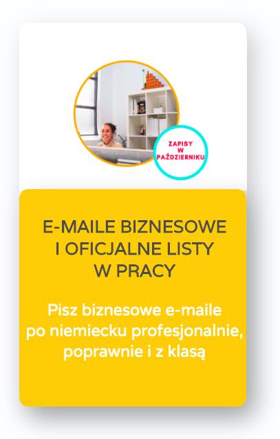 oficjalne listy korespondencja biznesowa po niemiecku niemiecki e-maile biznesowe i oficjalne listy w pracy