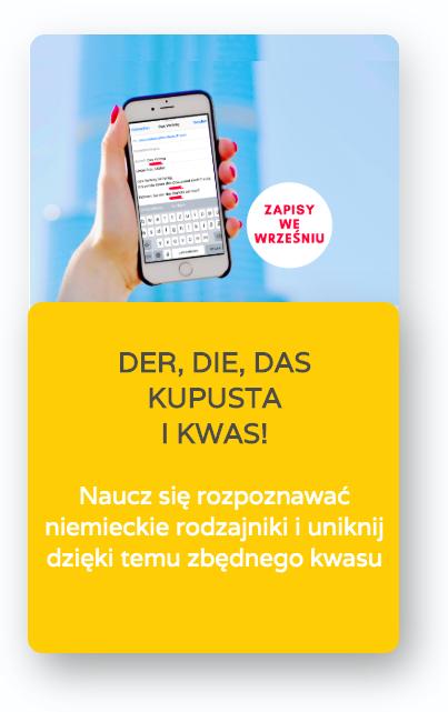 kurs online jezyka niemieckiego rodzajniki der die das rodzajniki niemieckie