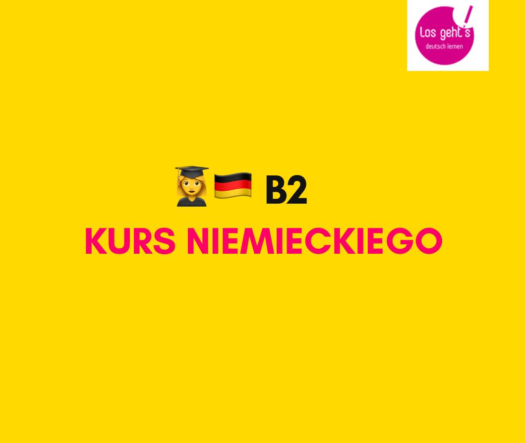 kurs jezyka niemieckiego B1 B2
